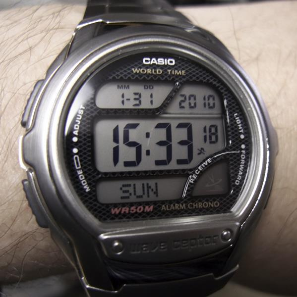 casio wave ceptor instructions