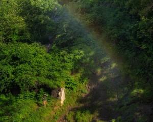 Minnehaha Falls Rainbow