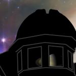 Closeup of tower windows showing Saturn